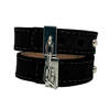 Crave - Leather Cuffs Black